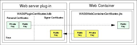 Securing the transport channel between the Web server and WebSphere