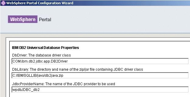WebSphere Portal V6 Enterprise Database Domains