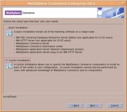 Install Commerce v6 x