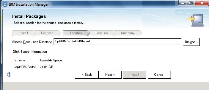 Portal v8 install example